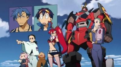 gurren lagann,anime,japon,série