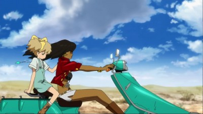 anime,série,japon,michiko to hatchin